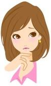 残念な表情の女性