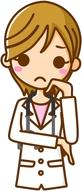 思案顔の医師